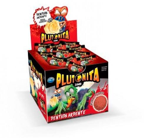 Chicle Plutonita Zumbi Ácido + Picante 40 Un Halloween Edition - Catelândia