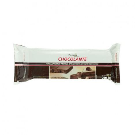 Chocolanté Chocolate Meio Amargo Tipo Belga 2,01 Kg - Catelândia