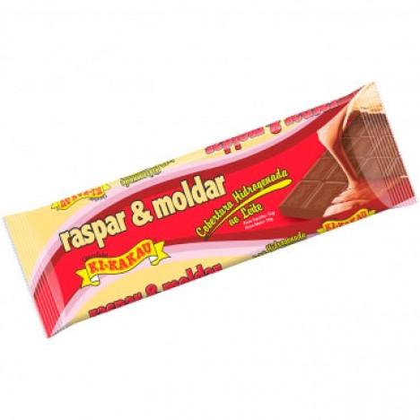 Chocolate ao Leite Barra de 1 Kg para Cobertura ou Ovo de Páscoa - Catelândia