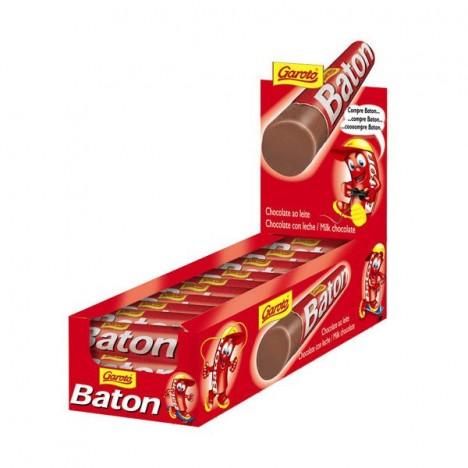 Chocolate Baton Ao Leite Caixa com 30 Batons de 16g 480g - Garoto