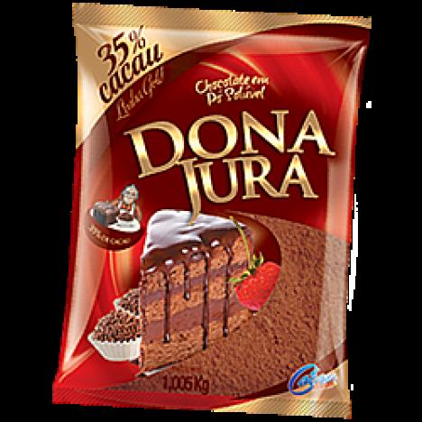 Chocolate em Pó 35% CACAU Especial para Fazer Chocolate Quente 1Kg - Festa Junina