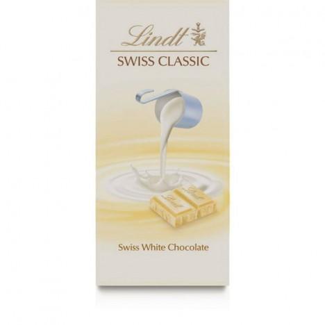 Chocolate Suíço Branco Lindt White Swiss Classic - 100g