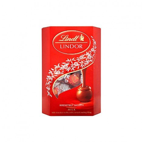 Chocolate Suíço Lindt Bombom - Lindor Ball Milk - 200g