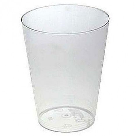 Copo Transparente Cristal Descartável Resistente 200 ml 10 Unidades - Catelândia