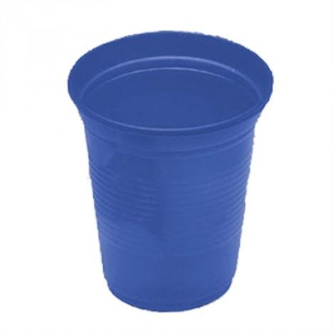 Copos Descartáveis 200 ml Azul Escuro 50 Unidades - Catelândia
