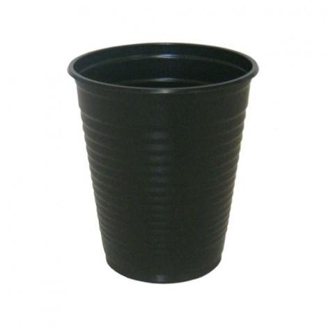 Copos Descartáveis 200 ml Preto 50 Unidades - Catelândia