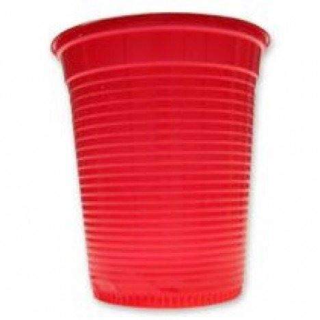 Copos Descartáveis 200 ml Vermelho 50 Unidades - Catelândia