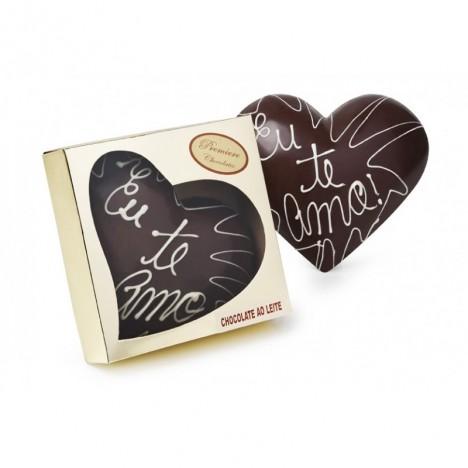 Coração Gold Chocolate ao Leite 150g - Catelândia