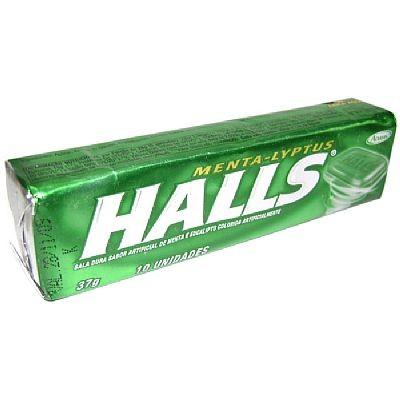 Drops Halls Menta Lyptus c/ 21 unidades - Adams
