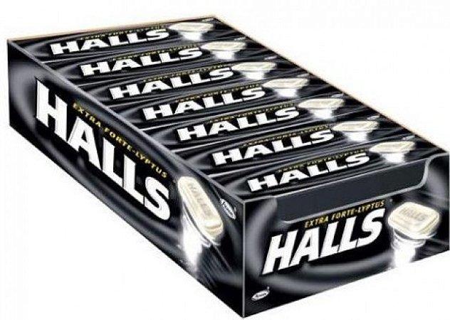 Drops Halls Preto Extra Forte c/ 21 Un 714g - Adams