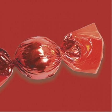 Embalagens para Trufas e Bombons 100 Un Vermelho - Catelândia
