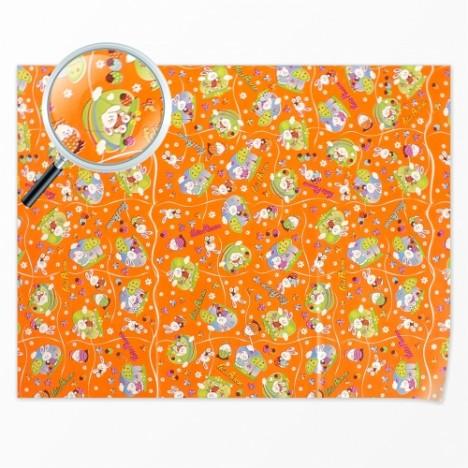 Folha Poli para Ovo de Páscoa Infantil 70 cm x 90 cm Embalagem 10 Un - Catelândia