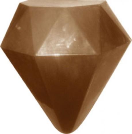 Forma para Chocolate em Silicone Ovo Diamante 500g - BWB