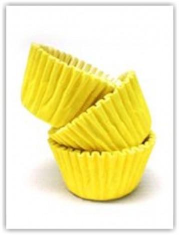 Forminha para Docinhos de Festa 100 Un Amarela - Catelândia