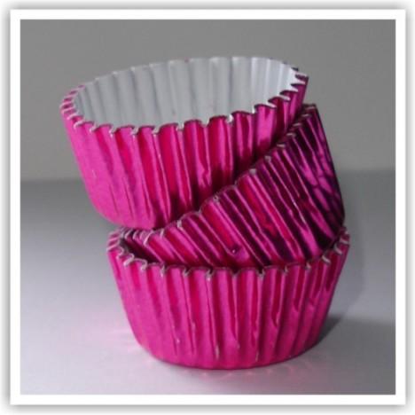 Forminha para Docinhos de Festa 100 Un Rosa Pink - Catelândia