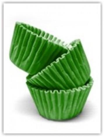 Forminha para Docinhos de Festa 100 Un Verde Escuro - Catelândia