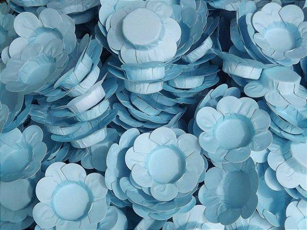 Forminhas para Docinhos Azul Turquesa 50 Un - Catelândia