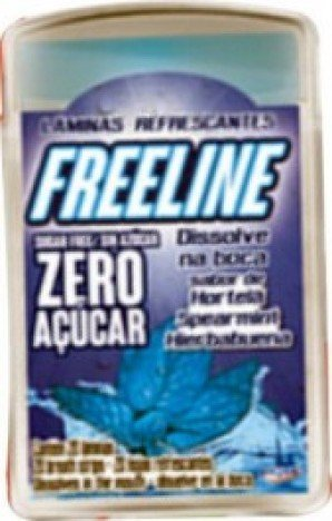 Freeline Display de 12 Blister com 20 Lâminas cada Sabor Hortelã - Catelândia