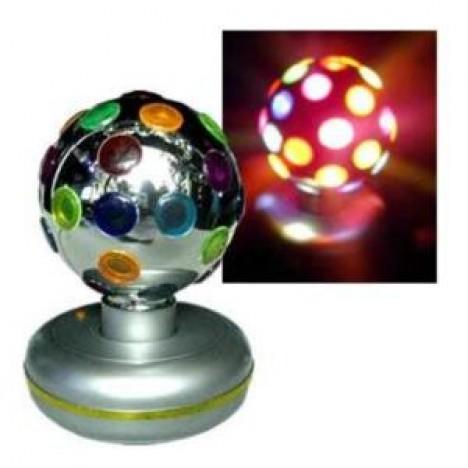 Globo Giratório de Luzes Coloridas e Efeitos P/ Festas 110 Watts - Catelândia