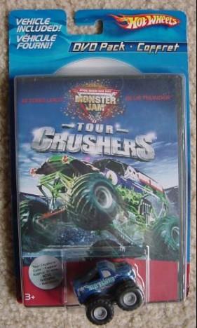 Hot Wheels Monster Jam + Dvd Pack Com Carrinho Blue Thunder - Catelândia
