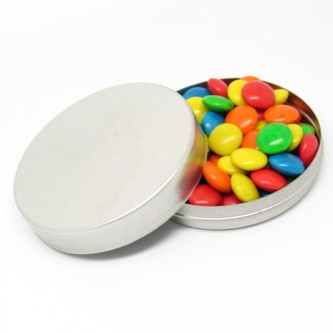 Kit Lembrancinhas 25 Un (25 latinhas 500g de Chocolate Coloreti) - Catelândia