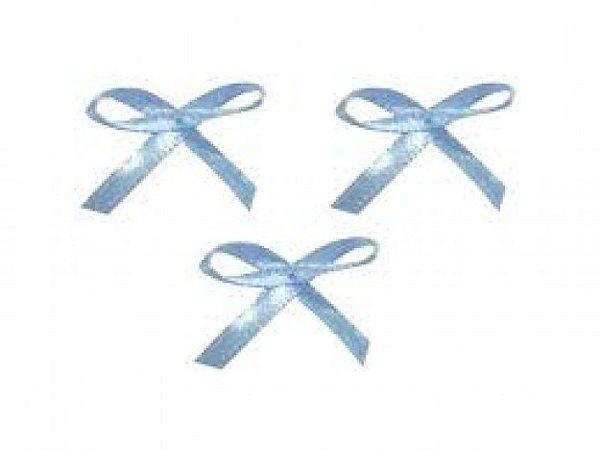 Laço Mosquitinho Azul Claro 50 Un para Colherinhas de Brigadeiro Mole ou Lembrancinhas - Catelândia
