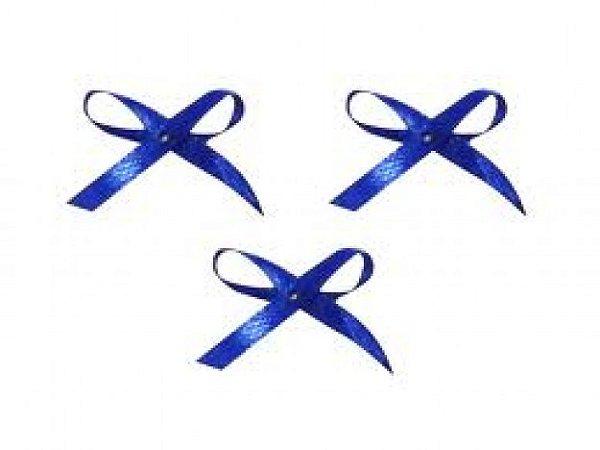 Laço Mosquitinho Azul Escuro 50 Un para Colherinhas de Brigadeiro Mole ou Lembrancinhas - Catelândia