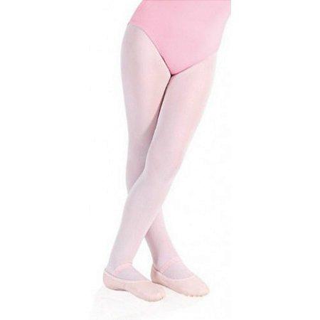 Meia Calça com Pé para Dança Lilás - Capezio Número 0 - Catelândia