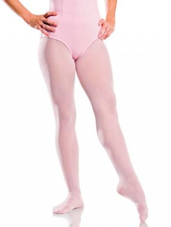 Meia Calça com Pé para Dança Rosa Claro - Capezio Número P - Catelândia