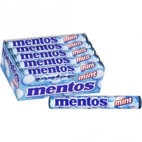 Mentos Mint 16 Tubos com 14 Confeitos cada Peso 608g - MENTOS BOL