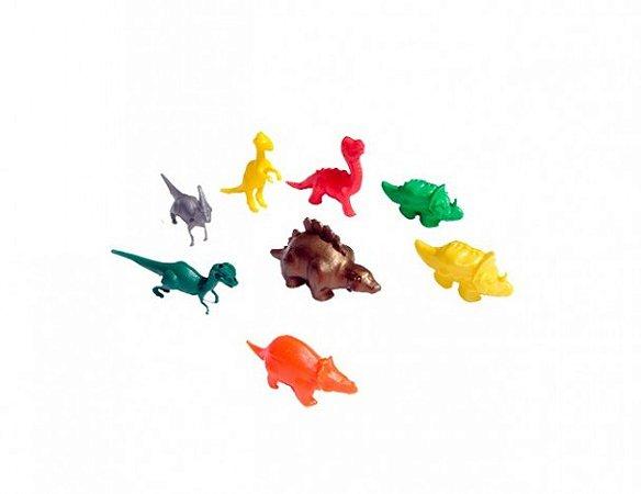 Mini Brinquedo - Dinossauro - Bichos da Pré História - 12 Un - Catelândia