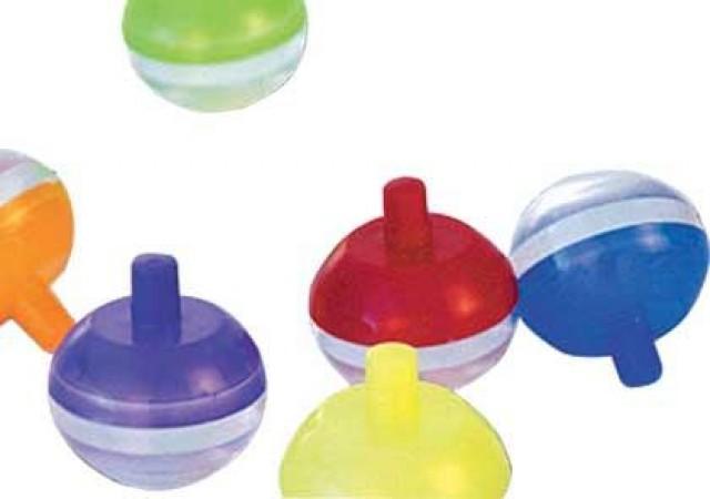 Mini Brinquedo Pião Maluco  para Sacolinha Surpresa 25 Un - Catelândia