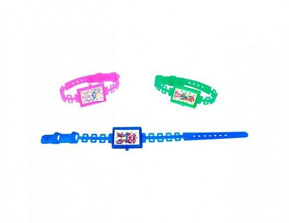 Mini Brinquedo Relógio Retangular para Sacolinha Surpresa  25 Un - Catelândia