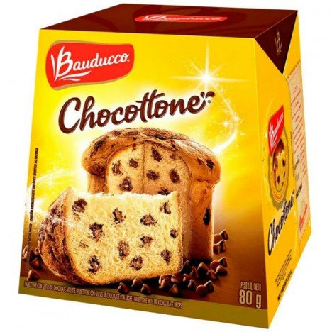Mini Chocottone com Gotas de Chocolate Bauducco 05 Unidades - Catelândia