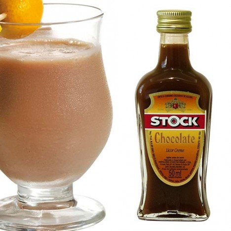 Mini Licor Sabor Chocolate Stock 50 ml - Catelândia