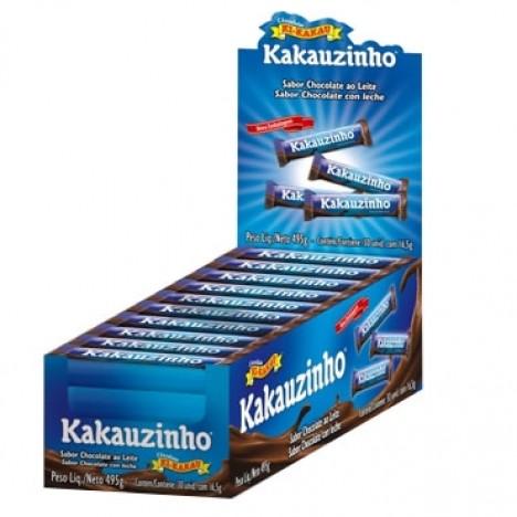 Novo Kakauzinho Sabor Chocolate ao Leite 30 Un - Catelândia