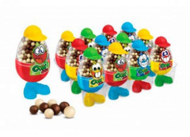 Ovix Mega Mini Brinquedo Ovo de Páscoa com Cereal 12 Un - Catelândia