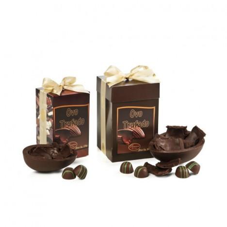 Ovo de Páscoa - Trufado - Chocolate Belga Callebaut - 500 g