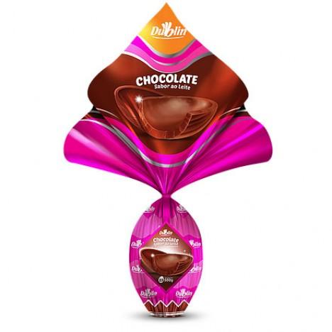 Ovo de Páscoa Grande N° 23 Chocolate ao Leite 500g - Catelândia