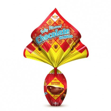 Ovo de Páscoa N° 12 Sabor Chocolate ao Leite 90g - Catelândia