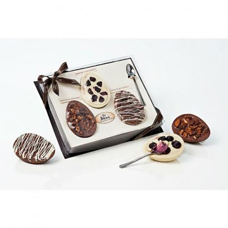 Ovos De Colher - Gourmet Amêndoas, Blueberry e Nutella - 100g cada