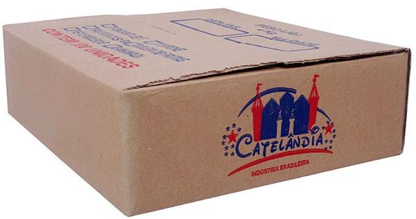 Paçoca Caseira Doce de Amendoim Embalagem Econômica 200 Un - Doces Castelo