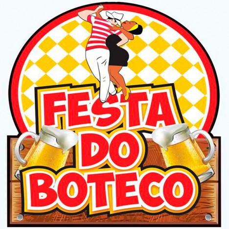 Painel Decorativo Festa do Boteco com Casal Dançando - Catelândia
