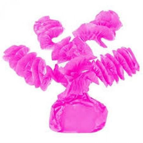 Papel Rococó Caracol para Bala de Coco Pink 40 Un
