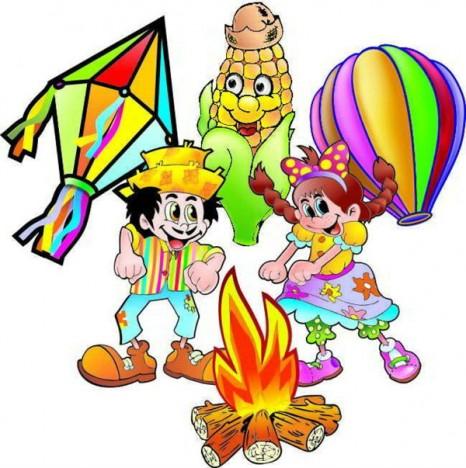Placas Decorativas Festa Junina de 13cm à 21cm 24Un - Catelândia