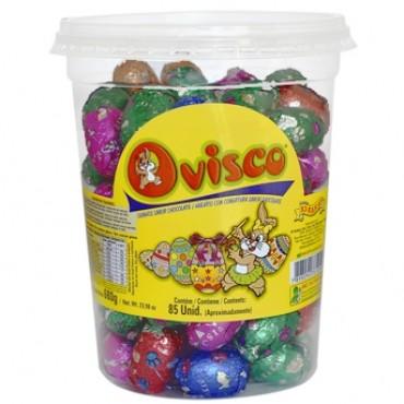 Pote de Ovinhos de Chocolate Aprox. 80 Unidades - Catelândia