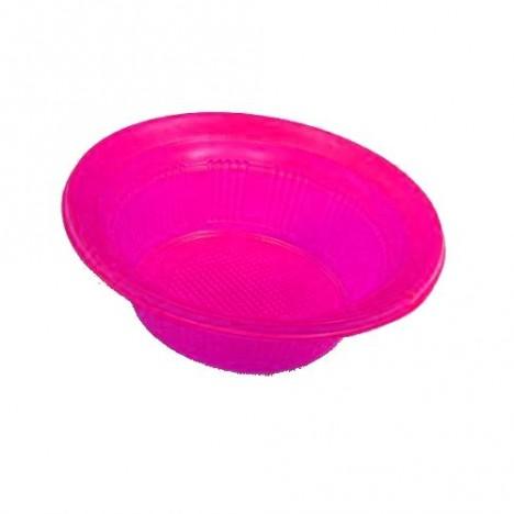 Pratos Descartáveis (Cumbuca) para Guloseimas Pink 10 Un - Catelândia