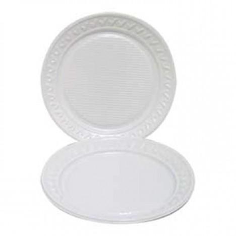 Pratos Descartáveis Para Refeição, Churrasco ou Salgado 26cm 10 Un - Catelândia