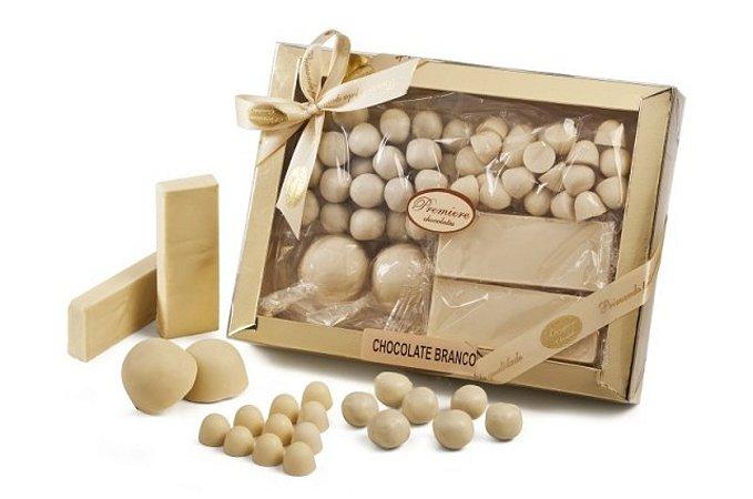 Seleção Chocolates Brancos 225g -Catelândia