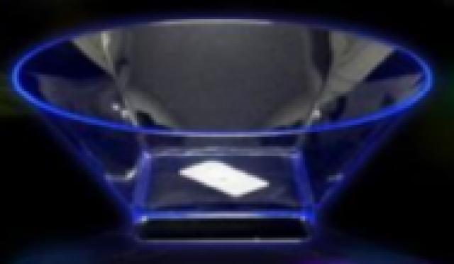 Taça Acrílica 14 x 9 cm Ideal para Mesa de Guloseimas 01 Unidade - Catelândia